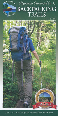 Backpacking Trails Map
