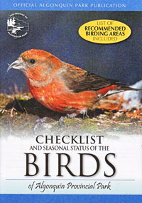 No. 09 - REVISED Checklist and Seasonal Status of the Birds of Algonquin Provincial Park