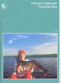 OUT OF STOCK/CURRENTLY UNAVAILABLE Fishing in Algonquin Provincial Park