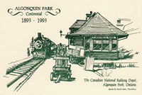 OUT OF STOCK/UNAVAILABLE  #66. Algonquin Park Station/Line