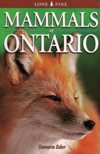 OUT OF STOCK/UNAVAILABLE  Mammals of Ontario